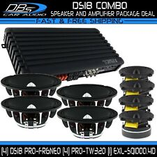 "4 DS18 PRO-FR6NEO 6.5"" Speakers 