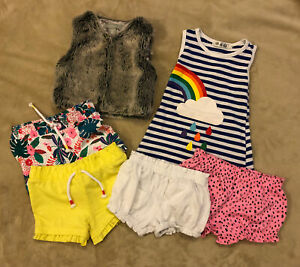 Baby Girls Clothes Bundle Aged 12-18 Months - Mixed Clothes Bundle - 6 Items