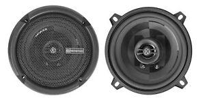 "Pair Memphis Audio PRX5 5.25"" 60 Watt 2-Way Car Speakers w/Pivot Tweeters"