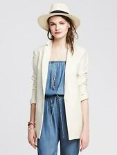 NWT BANANA REPUBLIC Cream Boyfriend Blazer,CREAM FRESH SIZE 10