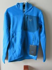Mens New Arcteryx Fortrez Hoody Jacket  Size Small Color Riptide