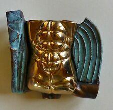 """Miguel Berrocal les Beaux Arts 1994 """" Eros """" Bronze Torse sur Parfum Flacon"""