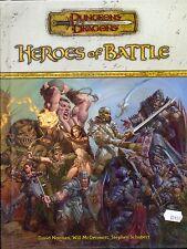 JDR RPG JEU DE ROLE / D&D 3.5 HEROES OF BATTLE