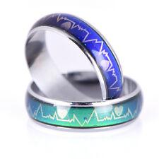Fashion Titanium Steel Mood Rings Temperature Emotion Feeling Engagement Ring TW