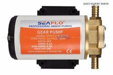 Seaflo 12V  GEAR PUMP Rear Mount Turbo Scavenge Pump STS