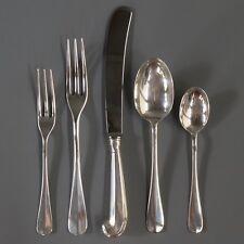 Stieff Sterling Silver Williamsburg Queen Anne Knife Spoon Dinner Salad Fork Set