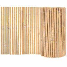 vidaXL Valla de Jardín de Bambú Marrón Cerca Vallado Patio Diferentes Tamaños
