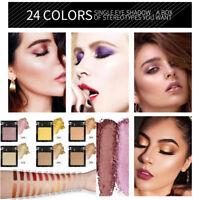 Matte Pearl Light Eye Shadow Powder Palette Matte Eyeshadow Cosmetic Makeup New