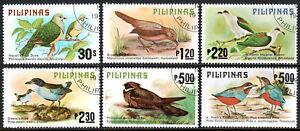 Philippines 1392-1397, CTO. Birds, 1979