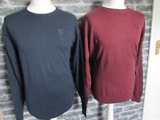 ENGLAND RUGBY RFU MENS CREW NECK GREY OR BURGUNDY SWEATER  S M L XL XXL  RRP £59