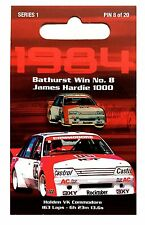 PETER BROCK - 1984 JAMES HARDIE 1000 BATHURST WIN PIN #8