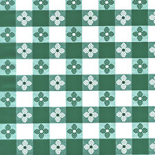 "Tavern Check Vinyl Without Felt Back 54"" wide - By The Yard"