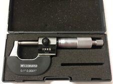 "Westward Rolling Digital Counter Micrometer, 0-1"" Range, .0001"" Graduation"
