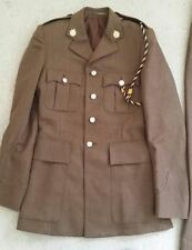 GENUINE BRITISH ARMY UNIFORM TUNIC AND TROUSERS - NO. 2 DRESS - EXCELLENT COND !