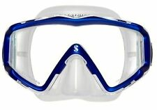Scubapro Crystal VU Scuba Diving/Snorkeling Mask - Blue