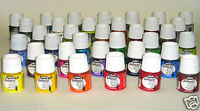 Pebeo Setacolour opaque fabric paint 45ml bottle. Choose from 40 colours