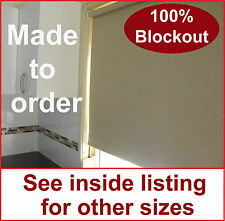 Roller holland blind 2700mmW x 1500mmD various colours