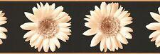"FLOWERS-BORDER-9""HIGH-$9.00 PER ROLL-FREE S&H"