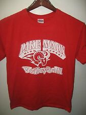 Lake Mary High School Florida USA Rams Volleyball Team Sports Red T Shirt Medium