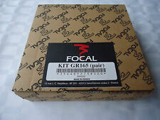 """FOCAL GR165 Car Woofer Grills 6-1/2"""" (165mm) **PRICED AND SOLD AS PAIR**"""