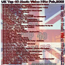 Promo Disc UK's Top 40 DVD, Top 40 Video Hits for February 2012 from the U.K.!!