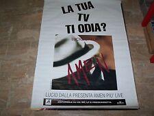 """LUCIO DALLA - RARO MANIFESTO""""AMEN""""     100 x 140"""