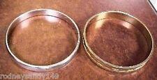 1 Goldtone Bangle Bracelets 2 Monet 1 Silvertone