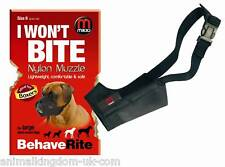 Mikki Nylon Fabric Muzzle For Dogs Size 8