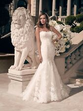 Wedding Dress Casablanca Bridal 2163 Ivory Size 18 NEW Un Altered