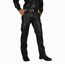 LEATHER TROUSERS/CUIR PANTALON GAY PANTS/BIKER TROUSERS,LEDERHOSE
