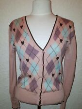Vintage Inspired Alanah Hill Sweetheart Cardigan Pure Wool