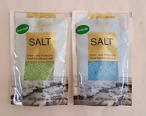 Dead Sea Mineral Bath Salt Scented SPA Natural made in israel 300gr/10.6 oz