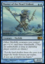 MTG MASTER OF THE PEARL TRIDENT FOIL ITALIAN EXC SIGNORE TRIDENTE PERLACEO