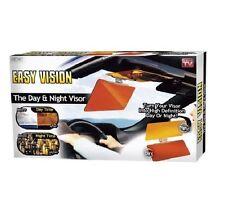 HD CLEAR VIEW VISION DAY & NIGHT SUN VISOR ANTI-GLARE UV BLOCKER FOLD FLIP UK