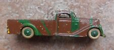 VINTAGE TOOTSIETOY U.S. ARMY MILITARY TRUCK GREEN BROWN COLORS