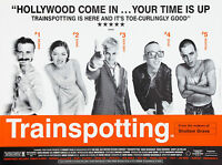 Home Wall Art Print - Vintage Movie Film Poster - TRAINSPOTTING - A4,A3,A2,A1