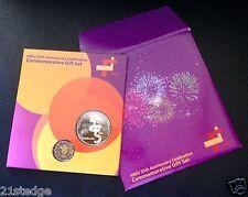 HSEU 25th Anniversary Commemorative Medallion $5 Scallop Coin Gift Set (Limited)