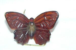 Vintage 1991 Boyd Art Glass Katie the Butterfly Figurine #18 Buckeye EUC