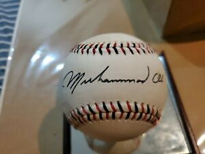 Muhammad Ali Signed Replica Ball. OUR BALLS ARE MADE FOR MUSEUMS!