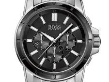 HUGO BOSS Uhr 1512928 Origin Chrono Herren Chronograph Edelstahl Armbanduhr NEU
