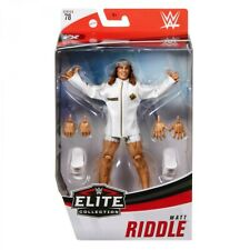 WWE Matt Riddle Elite 78 Mattel Wrestling Figure
