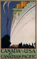 Canadian Pacific Poster 24in x36in