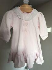 BARGAIN SALE Designer Girls Baby Emile Et Rose Pink Dress Age 1m Rrp £42