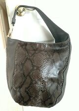 NEW! Gucci large python skin hobo