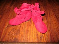 NEW WITHOUT BOX LITTLE GIRLS TODDLER BOOTS BY FADED GLORY  SIZE 2