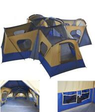 Camping Instant Tent 14 Person 20 x 20 Base Camp Family Cabin Canopy Large Blue