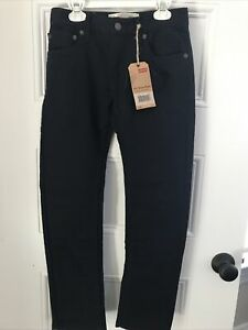 NWT Boys Blue (Almost Black) Levis 511 Knit Pant Feels Like Sweat Pants Size 12