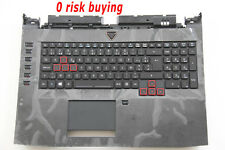 For Acer Predator 17 G9-791 Keyboard Belgian BE Clavier AZERTY Top case Backlit