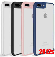 Case Cover For iPhone 8 X 6s 7 7 Plus Slim Thinnest Crystal Clear Bumper TPU