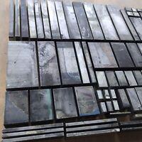 ALU Unterlegstege Stege für 1,75 mm Klischees, Nyloprints, Letterpress Bleisatz